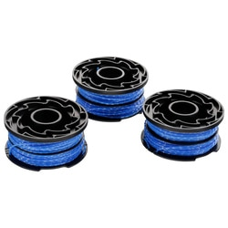 Black and Decker - Replacement Spool  Dual Line 2x6m 16mm Pack of 3 A6441 - A6441X3