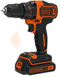 Black and Decker - 18V 2 sebessges frcsavaroz 400mA tlt 2 akku koffer - BDCDD186KB