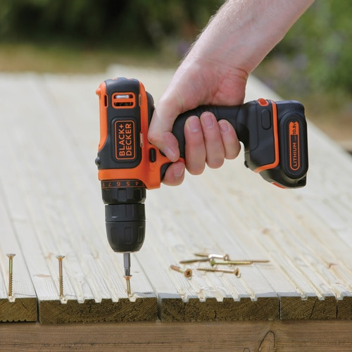 Black and Decker - 108V Kompakt LiIon Akkus frcsavaroz - BDCDD12K