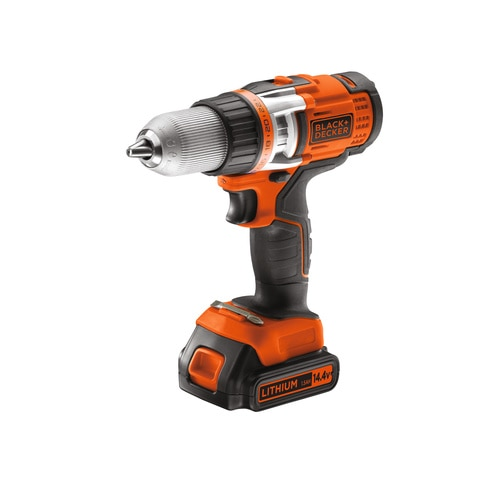 Black and Decker - 144V Nagyteljestmny LiIon 2 sebessges Frcsavaroz - EGBHP146K