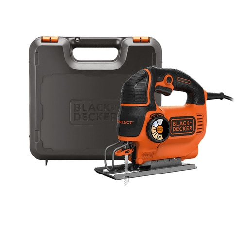 Black and Decker - 550W Autoselect Lengpengs dekoprfrsz frszlappal kofferben - KS801SEK