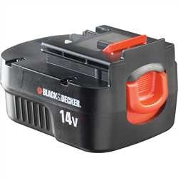 Black and Decker - 144V 15Ah NiCd Cssz akkumultor - A14