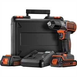 Black and Decker - 144V Frcsavaroz Autosense s Autoselect technolgival 2 akkumultor 90 perces gyorstlt s koffer - ASD14KB