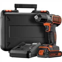 Black and Decker - 144V Frcsavaroz Autosense s Autoselect technolgival 1 akkumultor 90 perces gyorstlt s koffer - ASD14K