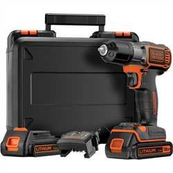 Black and Decker - 18V Frcsavaroz AutosenseAutoselect Technolgival 2 akkumultor - ASD184KB