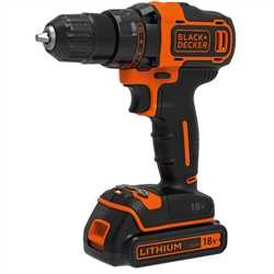 Black and Decker - 18V 2 sebessges frcsavaroz 200mA tlt 1 akkumultor - BDCDD186