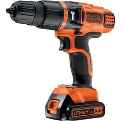 Black and Decker - 144V 2 sebesges LiIon tvefrcsavaroz - EGBL148KB