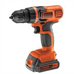 Black and Decker - 18V Frcsavaroz - EGBL18K