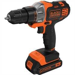 Black and Decker - 18V Multievo Multi szerszmgp frcsavaroz feltttel s 2 akkumultorral - MT218KB