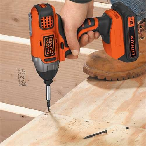 Black and Decker - 18V tvecsavaroz  akkumultor s tlt nlkl - BDCIM18N