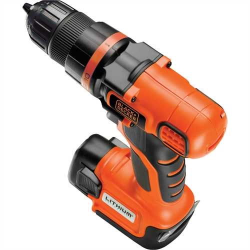 Black And Decker - 108V Ultra Kompakt LiIon Akkumultoros FrCsavaroz - EGBL108K