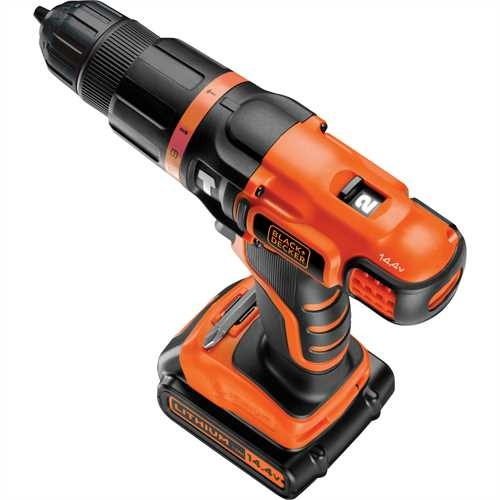 Black and Decker - 144V sebesges LiIon tvefrcsavaroz - EGBL148K