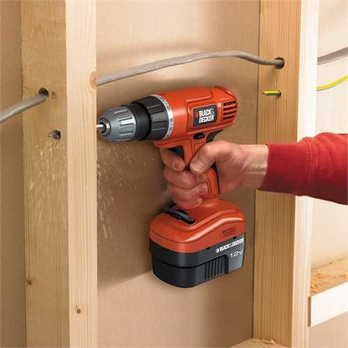 Black and Decker - 12V Akkumultoros FrCsavaroz - EPC12CA