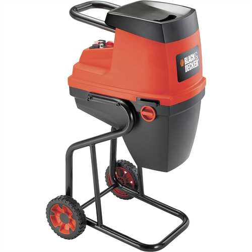 Black and Decker - Komposztaprt 2400W - GS2400