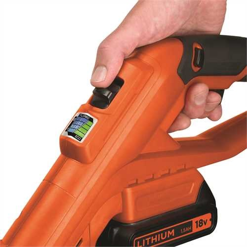 Black and Decker - 18V LiIon Szeglyvg - STC1820